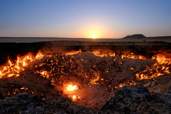 planet erde gates to hell derweze turkmenistan