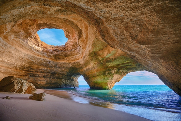 unser planet höhle algarve portugal