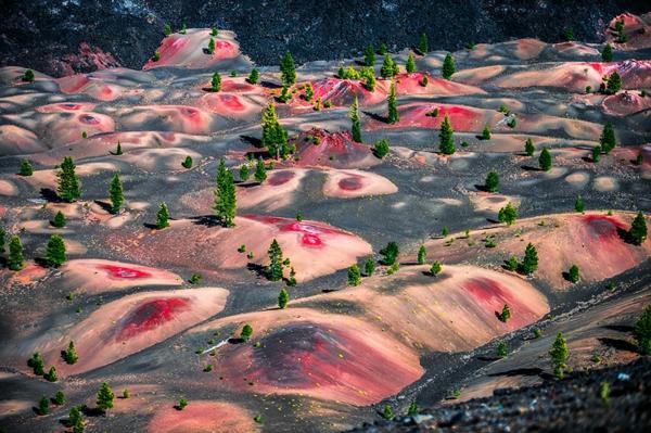 planet erde sanddünen lassen vulkan nationalpark usa