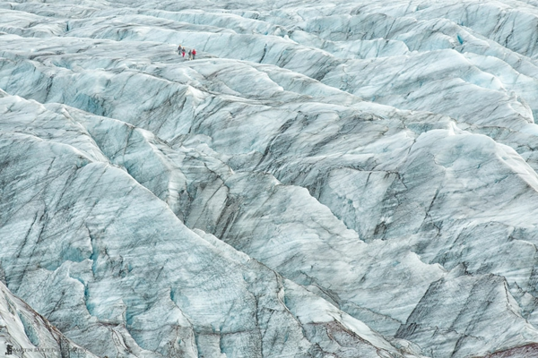 planet erde skaftafell gletscher island