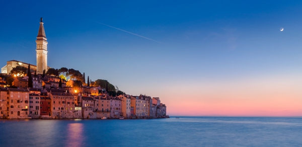 reise nach kroatien Rovinj romantisch norden