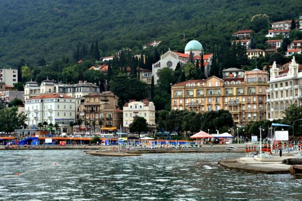 reise nach kroatien opatia