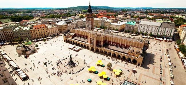 reisen und urlaub nach Krakau Polen