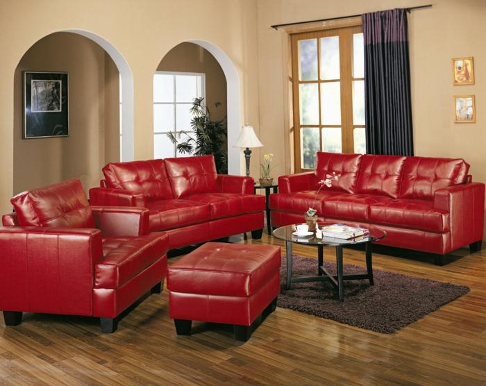 ideen » wohnzimmer ideen rote couch - tausende bilder von ... - Wohnzimmer Ideen Rote Couch