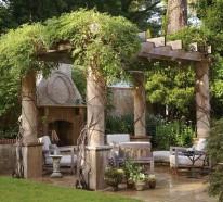 Gartenideen, die den Außenbereich frischer erscheinen lassen