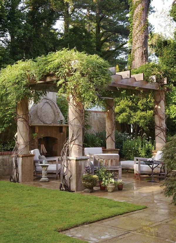 Gartenideen die den au enbereich frischer erscheinen lassen - Ausgefallene gartenmobel ...