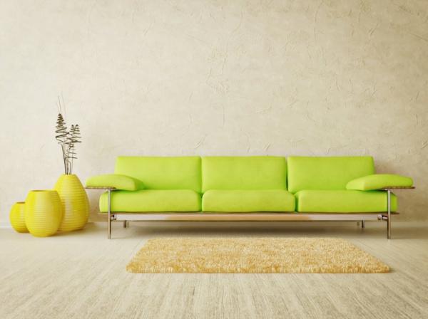 schöne sofas modernes design trendfarben