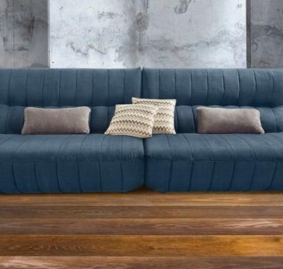 Schöne Sofas lassen das Wohnzimmer charmanter aussehen