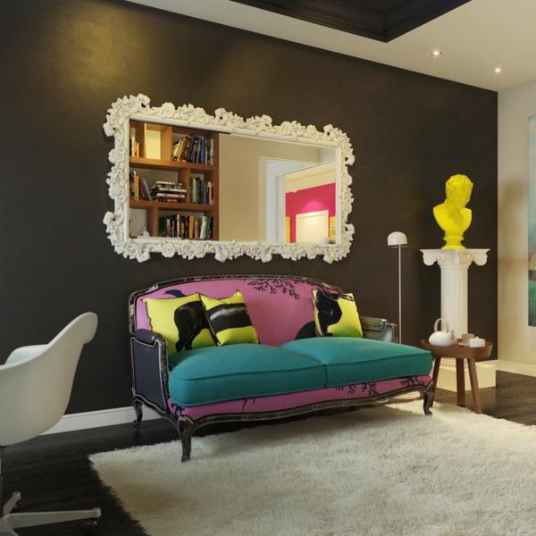 schöne sofas pop art couch design