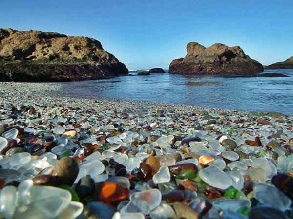 schönste-strände Glass Beach Fort Berg Kalifornien