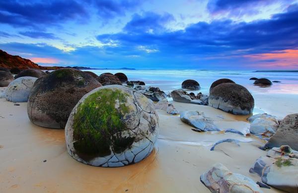 schönste strände Koekohe Beach