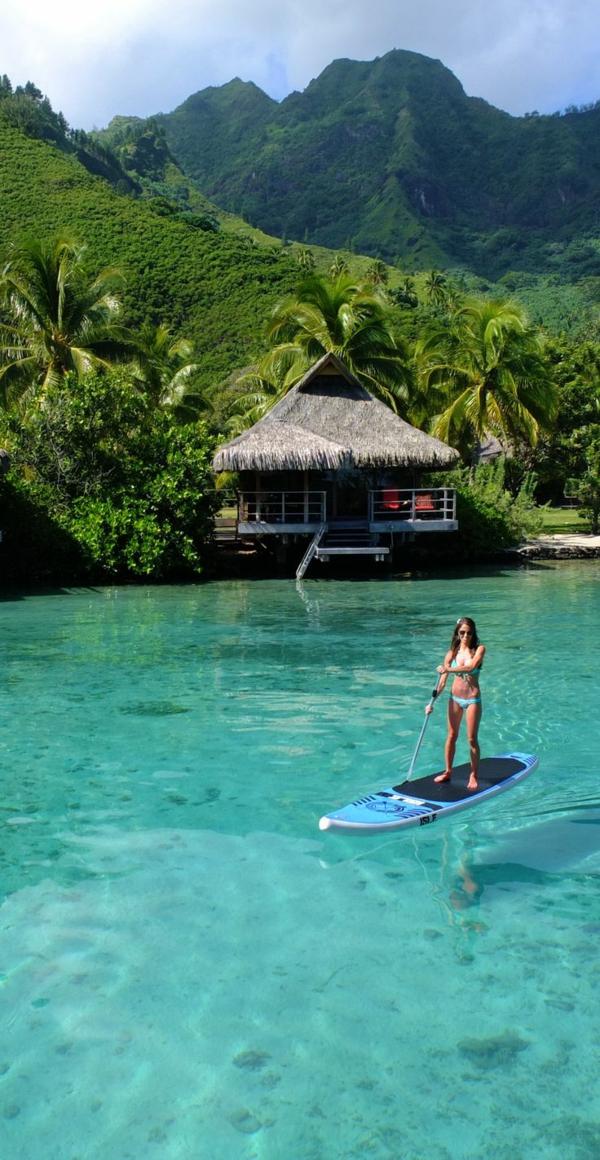 schönste strände Moorea French Polynesia