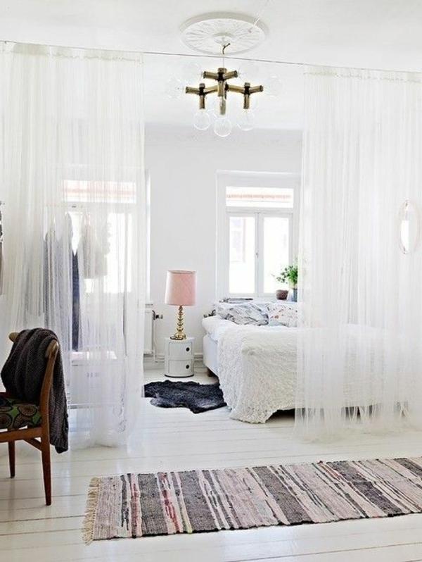 schlafzimmer design einrichtung sommerlich frisch