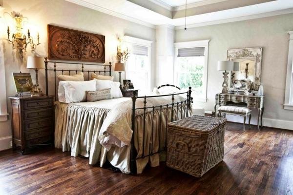 Schlafzimmer Retro Stil : Vintage Schlafzimmer Ideen F?r Die  Schlafzimmergestaltung