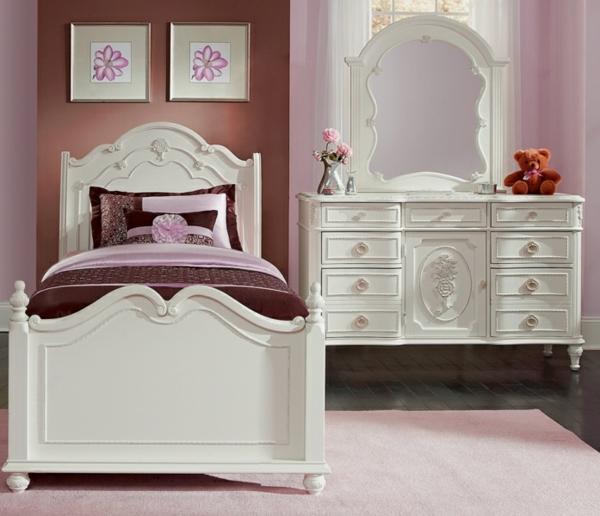 schlafzimmer set mädchenzimmer weiße schlafzimmermöbel