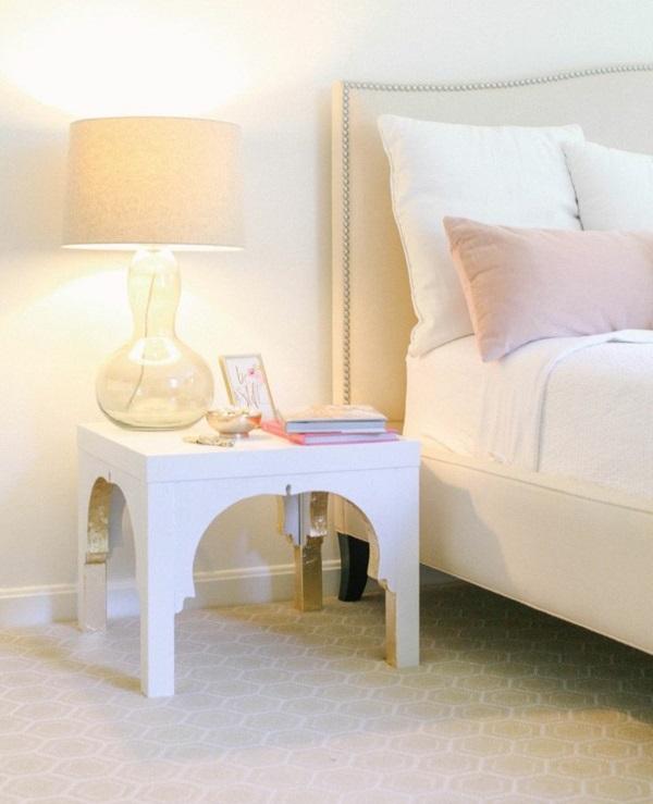 schlafzimmer skandinavisch einrichten ikea möbel nachttisch