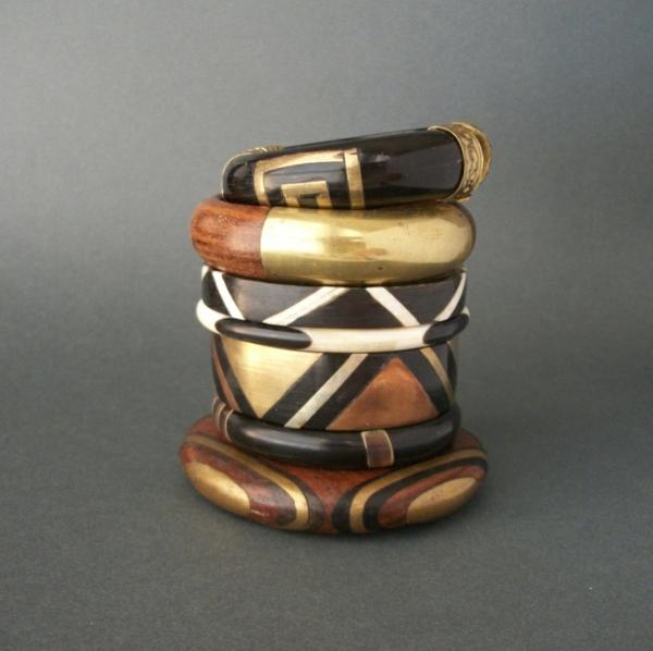 schmuck und accessoires armbänder damen aus holz