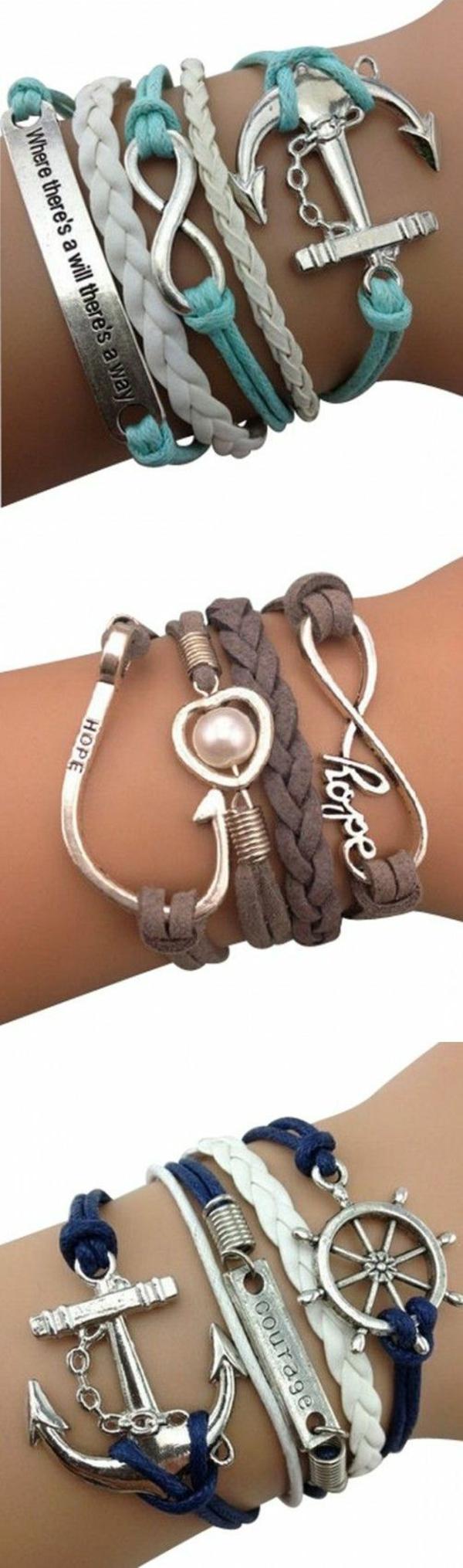 schmuck und accessoires damen armbänder sommer