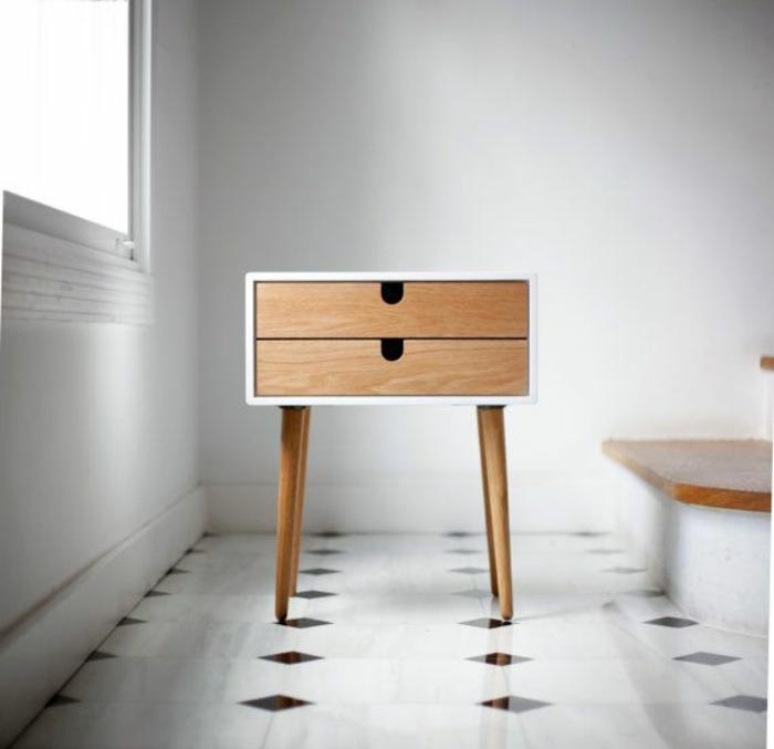 skandinavische möbel aus holz anrichte