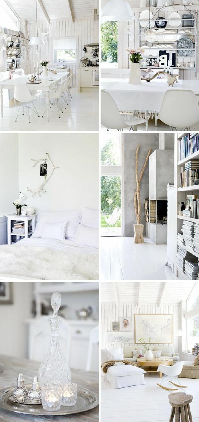 Skandinavische Möbel und Einrichtungsideen im minimalistischen Stil