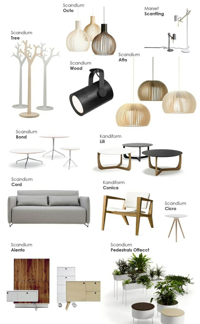 Skandinavische Möbel und Einrichtungsideen im ...
