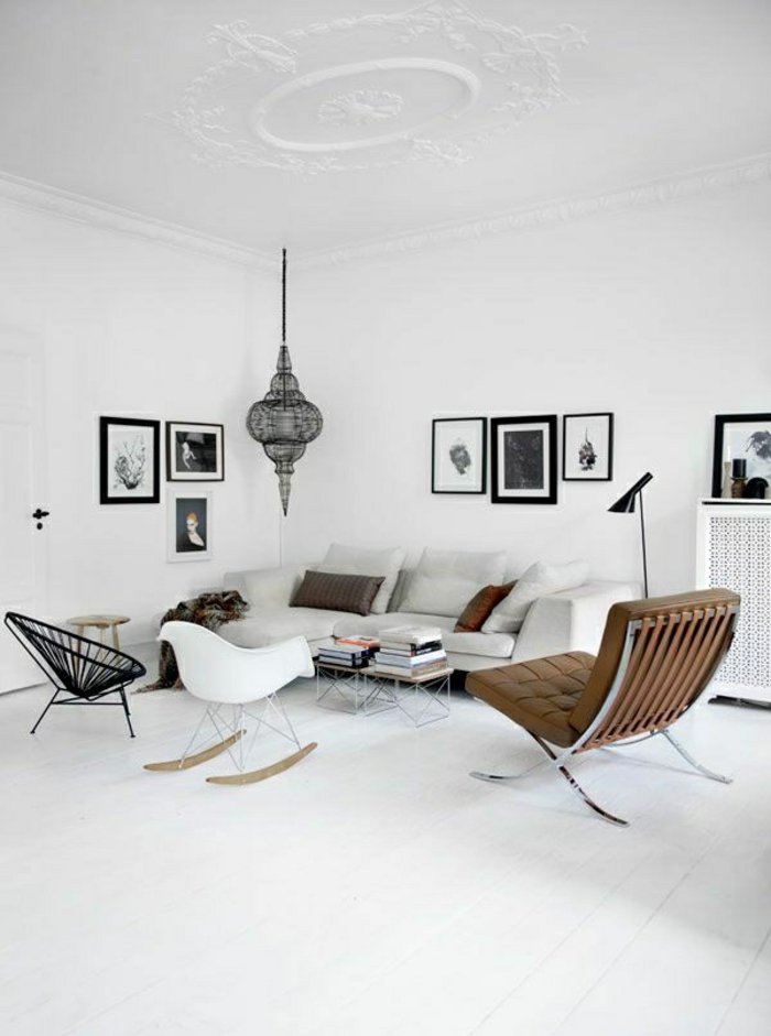 Skandinavische Einrichtung Mobel   skandinavische m C3 B6bel designer st C3 BChle wohnzimmer modern einrichten
