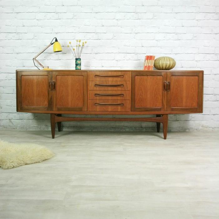 skandinavische möbel holz anrichte vintage stil möbel