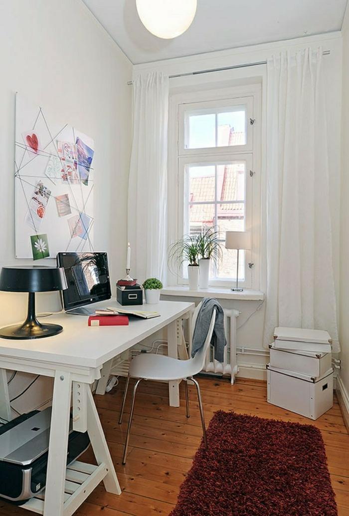 skandinavische möbel schreibtische idee haus modern weisse ausstattung