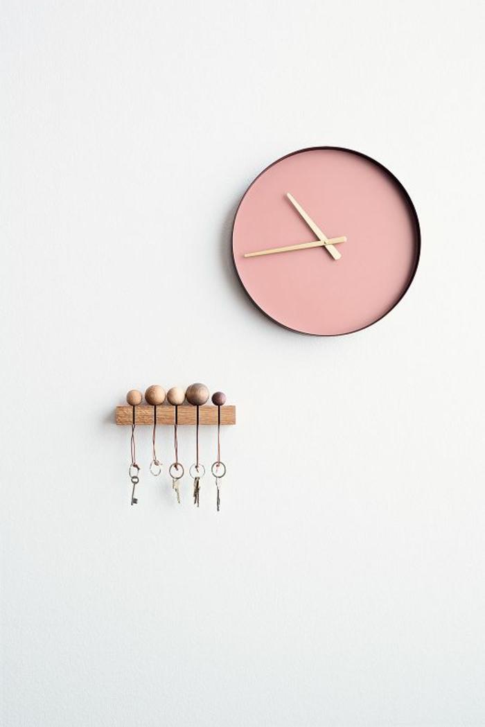 Skandinavische m bel und einrichtungsideen im minimalistischen stil - Wanduhr skandinavisch ...