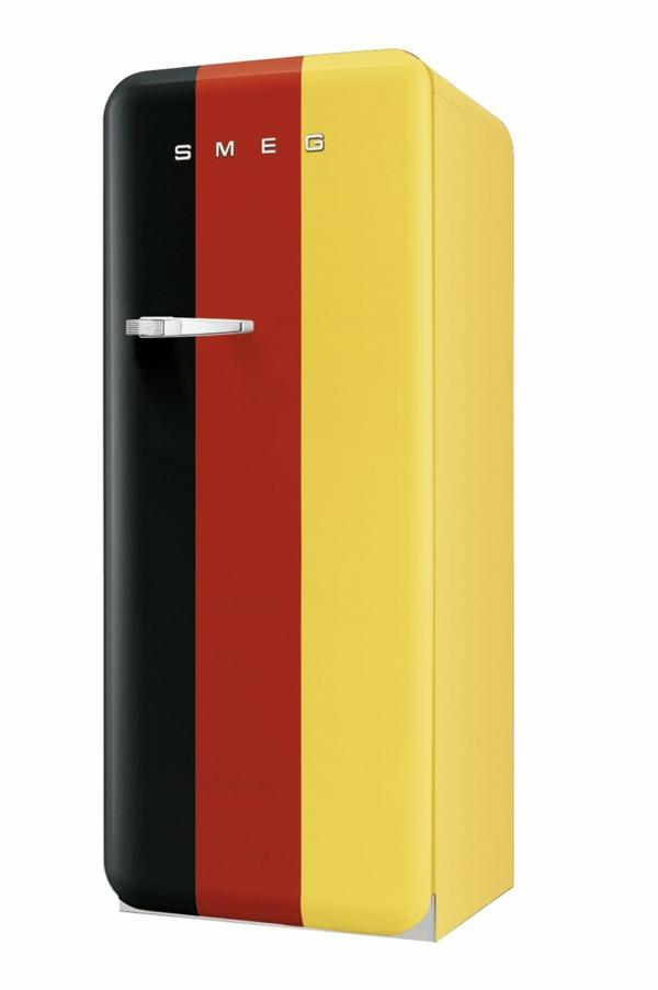 smeg kühlschrank deutsche nationalflagge