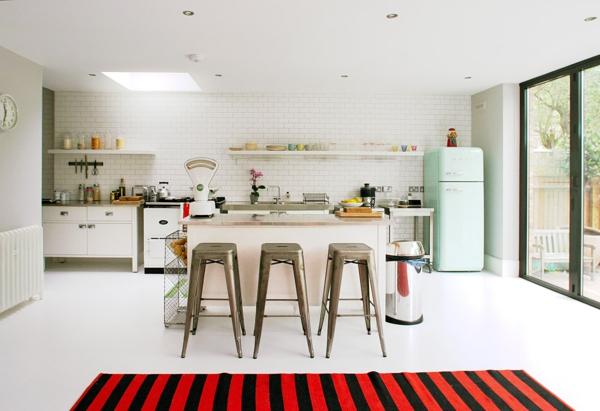 smeg kühlschrank elegant retro stil