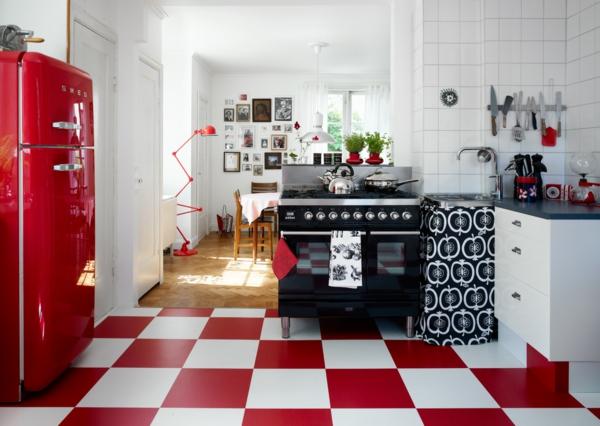 Retro Kühlschrank Dunkelrot : Der smeg kühlschrank eine designikone in 50er jahre style