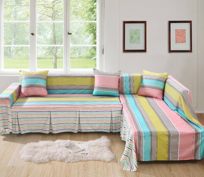 sofa kissen dekokissen farbige kissenbezüge