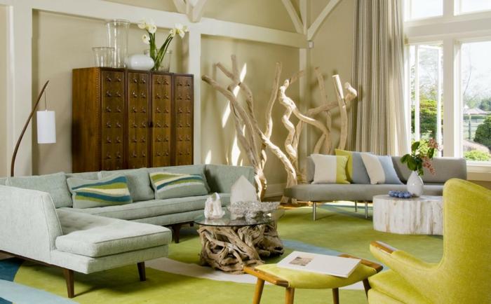 Sofa Kissen Wohnzimmer Vintage Stil Ecksofa Frische Dekokissen