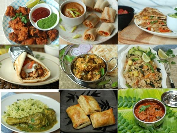 sternzeichen skorpion hähnchen indische asiatische küche