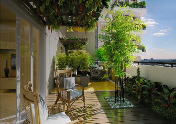 terrassenüberdachung lebende überdachung pflanzen pergola
