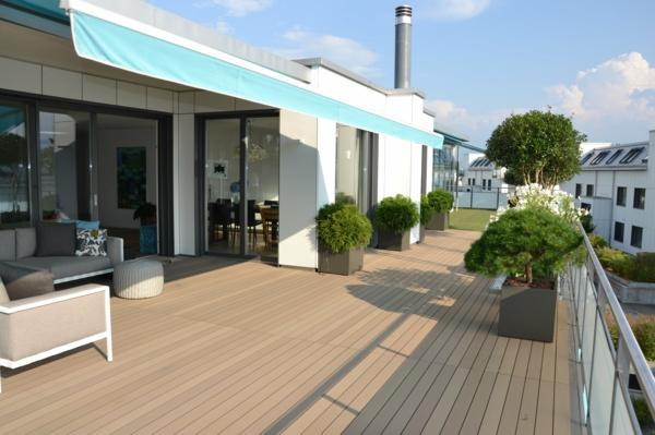 terrassenüberdachung sonnenschutz stoff bewegbar