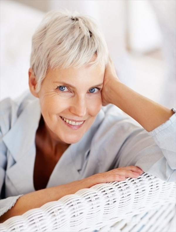 tipps gesunder körper frauen kurze haarfrisur
