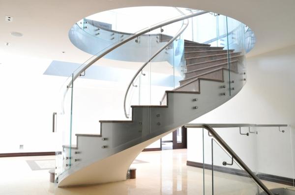 treppenhaus gestalten metall design