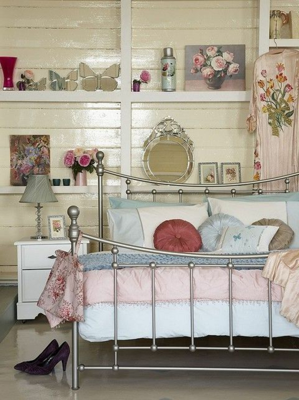 Vintage Schlafzimmer - Ideen Für Die Schlafzimmergestaltung Schlafzimmer Vintage