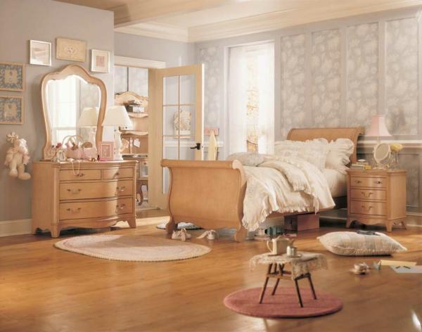 Schlafzimmer Gestalten Retro : vintage schlafzimmer einrichtung schlafzimmer schminktisch spiegel