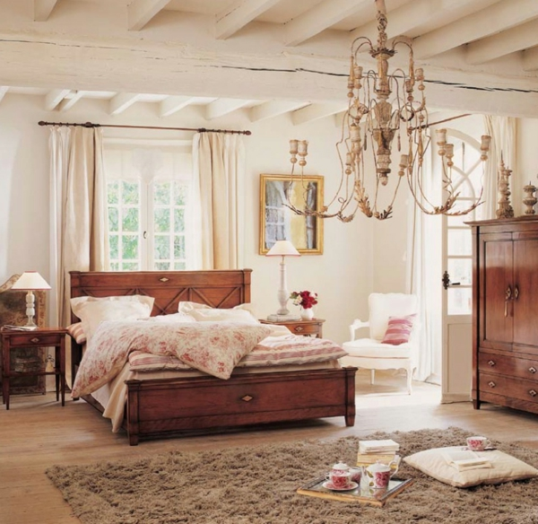 vintage schlafzimmer ideen f r die schlafzimmergestaltung. Black Bedroom Furniture Sets. Home Design Ideas