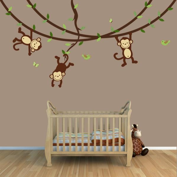 Babyzimmer Wandgestaltung Beispiele Neutral ~ Raum Haus Mit ... Babyzimmer Wandgestaltung Beispiele Neutral