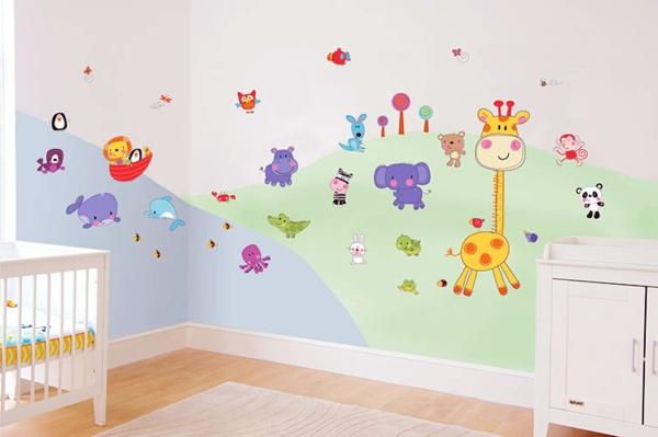 Babyzimmer wandgestaltung: babyzimmer wandgestaltung winnie pooh ...