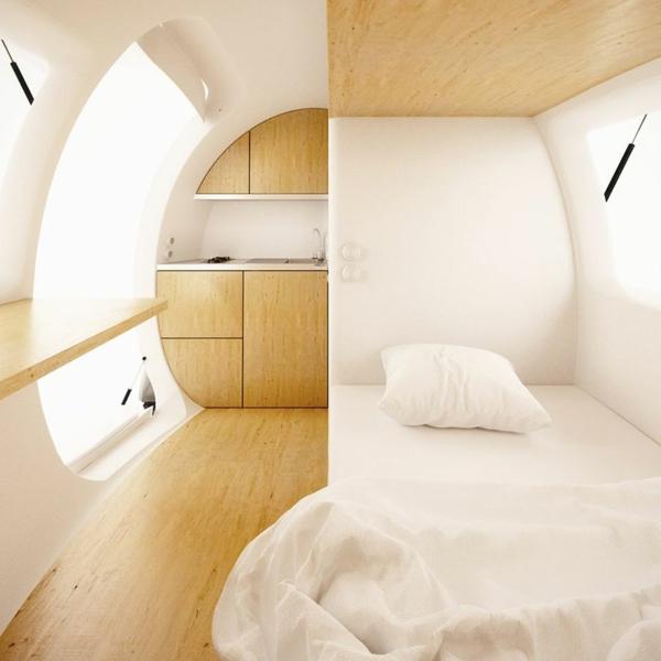 Wohncontainer in dem sie v llig off the grid leben k nnen for Moderne wohncontainer