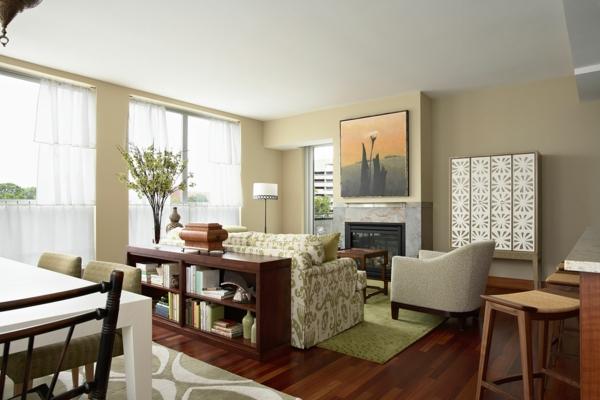 wohnzimmer küche zusammen:man küche und wohnzimmer zusammen : Grelle Akzente im Wohnzimmer