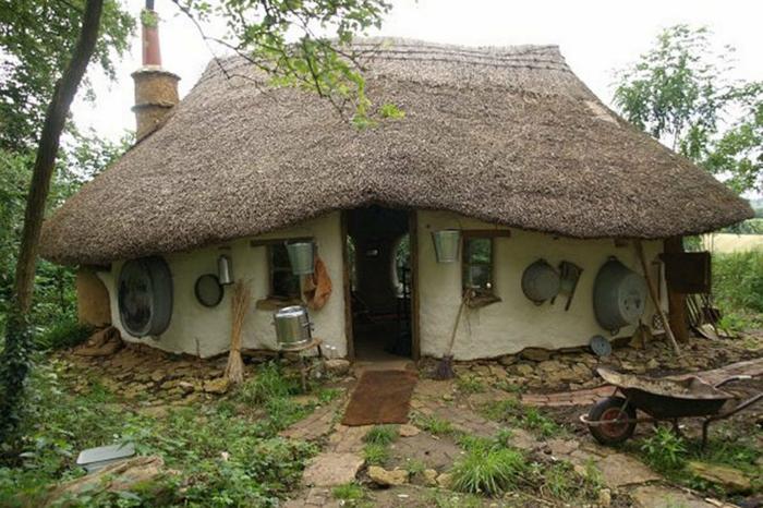 ökologisch bauen lehmhaus dorfhaus rustikal