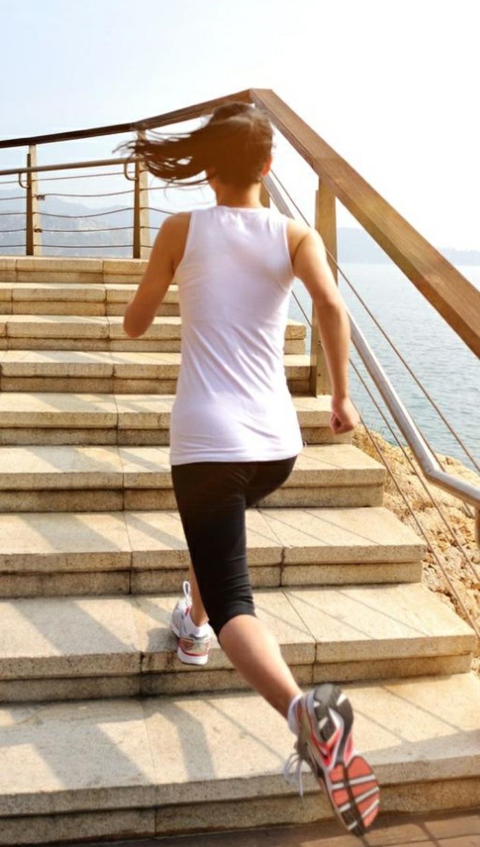 Ausdauer Training sportarten treppen hoch und runter