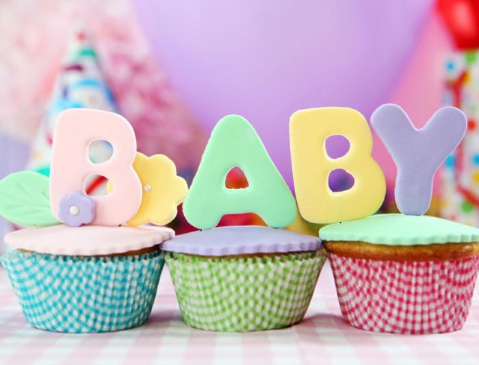 Babyparty deko ideen süßigkeiten thema erwartung