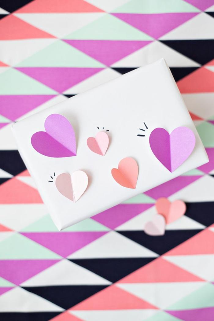 Babyparty geschenke verpacking ideen basteln mit papier